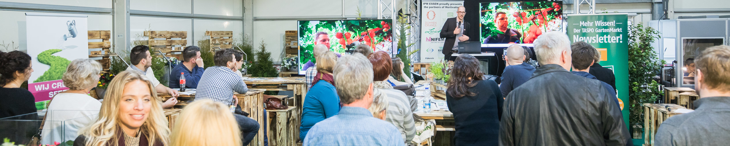 IPM ESSEN:  		Speakers Corner